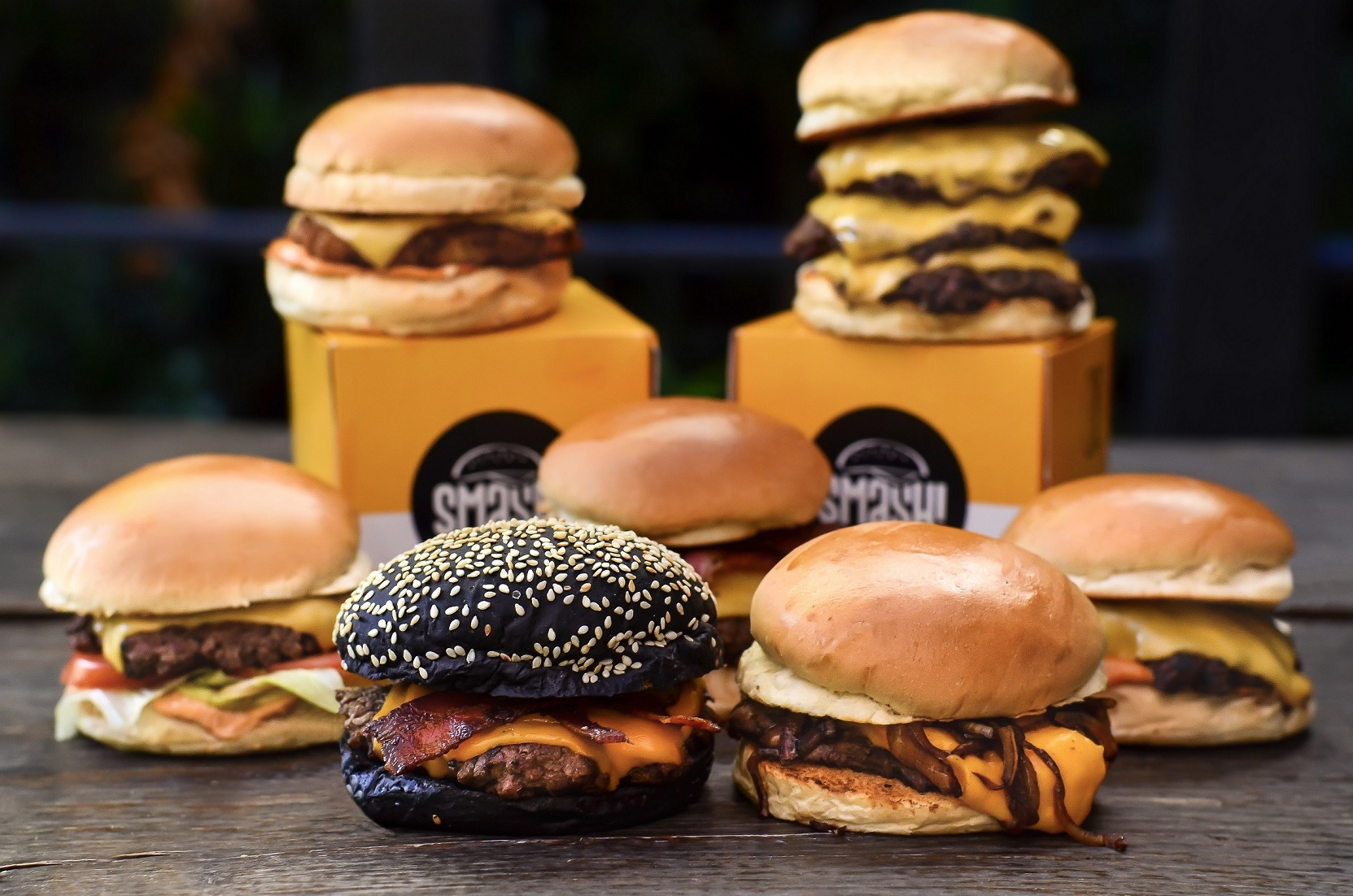HOG Smash Burger